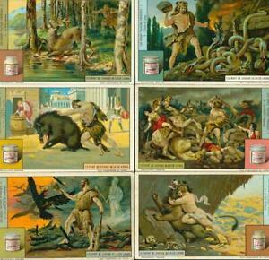LIEBIG : S_1206/7 : 'Les Douze Travaux d'Hercules 1 & 2