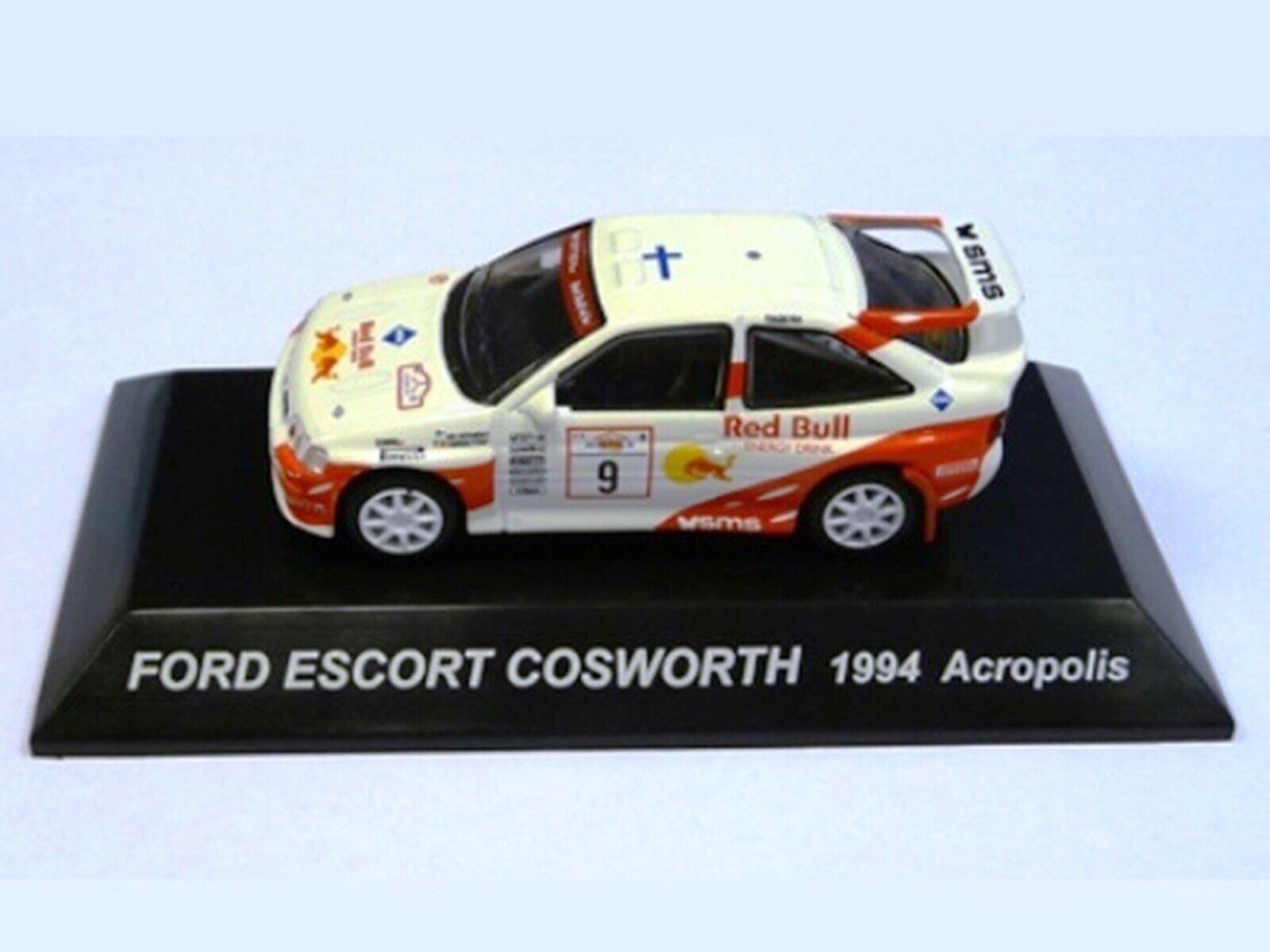 WOW estremamente raro FORD ESCORT RS COSWORTH 1994 Vatanen WRC 1:64 CM 'S KYOSHO