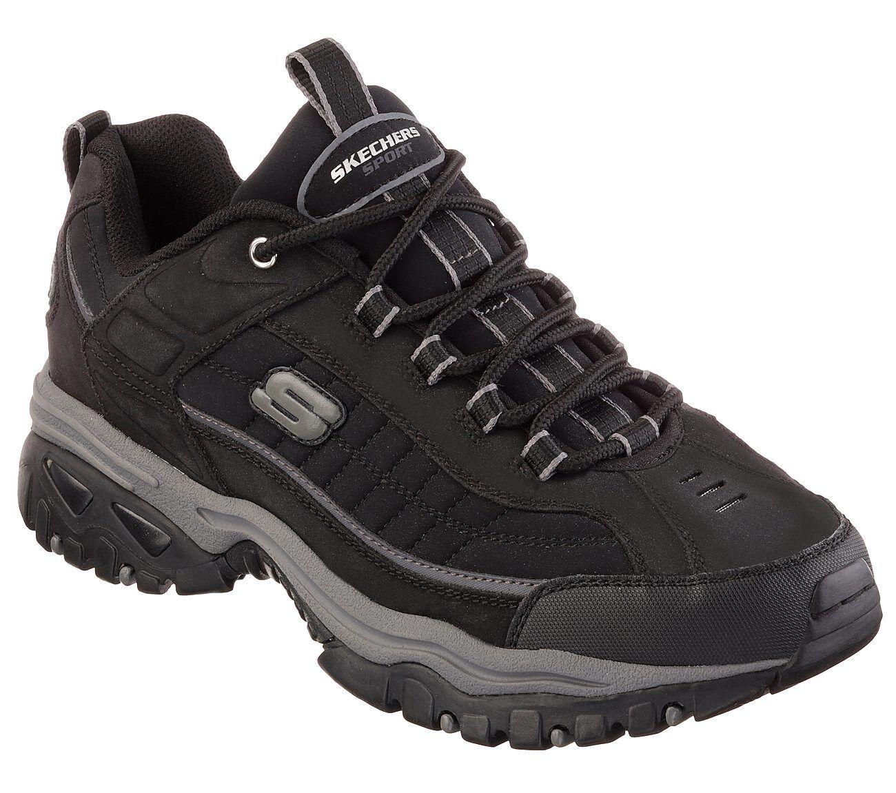 50172 EW Wide Width Black Skechers shoes Men's Sport Casual Soft Leather Sneaker Seasonal price cuts, discount benefits
