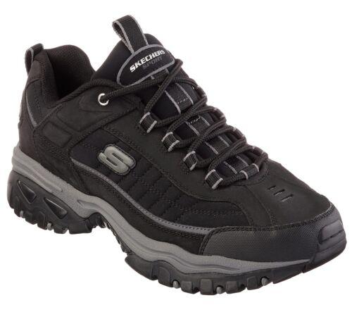Skechers Deporte Suave 50172 Cuero Casual Hombre Zapatos Zapatillas Negro gxqHv5