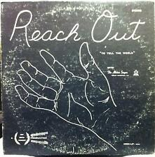 Alleluia Singers - Reach Out To The World LP VG Private 60's CA Xian Folk Rock