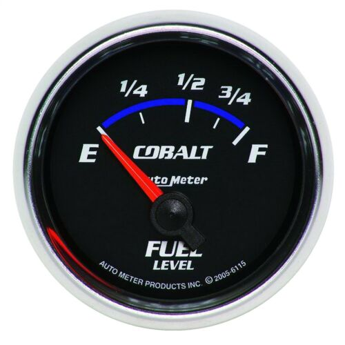 AutoMeter 6115 Cobalt Electric Fuel Level Gauge