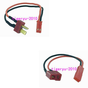JST 2P Female to T-Plug Deans Female Adapter charger leader for RC Power