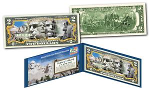 MOUNT-RUSHMORE-NATIONAL-MEMORIAL-MOUMENT-Legal-Tender-U-S-2-TWO-DOLLAR-Bill