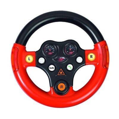 Bobby Car Spielzeug Motiviert Big Multi Sound Lenkrad Zubehör Multifunktionslenkrad Soundlenkrad Rot/schwarz
