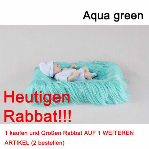 Baby Fotografie Prop Neugeborenen Fotografie Teppich Foto Decke Shaggy Plüsch