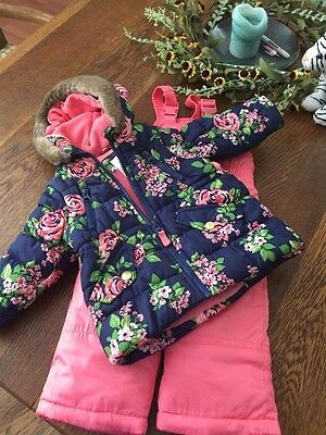 Carters Baby-Girls Heavyweight Jacket and Pants Snowsuit Snowsuit