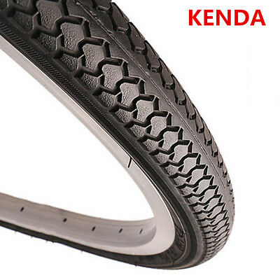 KENDA 20//24//26//27/'/'*1 3//8 Tires Mountain Bike Road Bike Tire 1 Tyre K184 Black