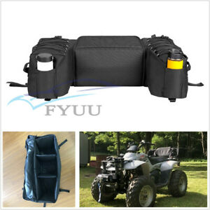 ATVs-Off-Road-Rear-Saddlebag-Seat-Bottom-Support-Storage-Pack-Rack-Bag-Universal