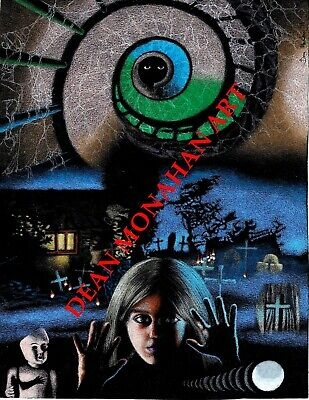 ORIGINAL MARIO BAVA KILL BABY KILL GOTHIC MOVIE VINTAGE ART PRINT FROM ARTIST 2