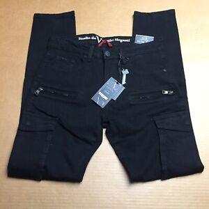 Vestiti Eleganti Ebay.Versace Vestiti Eleganti Mens Slim Straight Jeans Black 118 Size