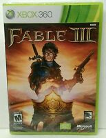 Brand - Factory Sealed Fable Iii (microsoft Xbox 360, 2010)
