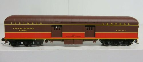 400 WOT ILLINOIS CENTRAL 60/' Baggage-Express Car #675 *FREE SHIPPING*