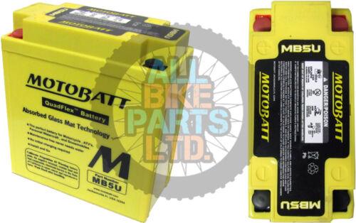 K//Start Motobatt Battery 1990-1991 Suzuki DR 650 RS