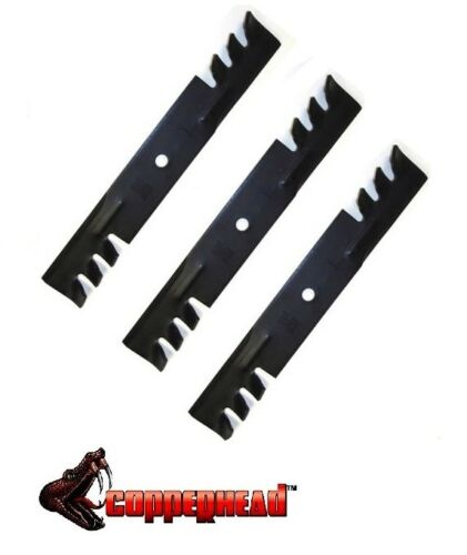 "3 Mulching Blades For Encore John Deere Lesco 48/"" Cut Mower Deck USA MADE"