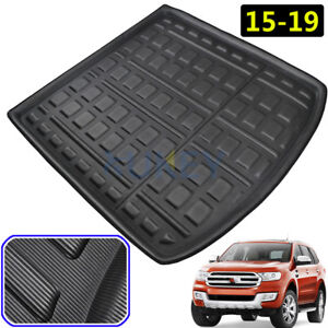 Tailored-Boot-Cargo-liner-Rear-Trunk-Tray-Floor-Mat-For-Ford-Everest-2015-2019