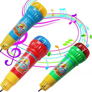 Echo-Microphone-Mic-Voice-Changer-Toy-Gift-Birthday-Present-Kids-Party-Song