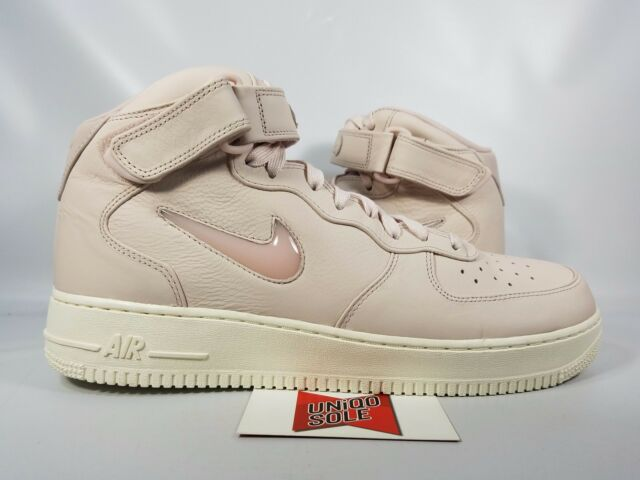 watch 80a5d a34f0 NEW Nike Air Force 1 Mid JEWEL PACK SWOOSH SILTSTONE RED PINK 941913-600 sz