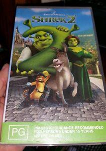 Shrek 2 Vhs Video Fast Post Ebay