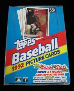 1992-Topps-Baseball-Complete-Your-Set-Pick-25-Cards-From-List