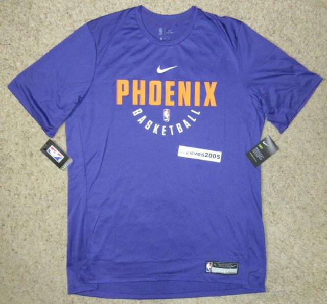 uk availability f8190 348d2 Nike Phoenix Suns Short Sleeve Practice Shirt Sz XL 100 Authentic