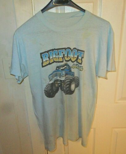 TShirt/Vintage Bigfoot 1981 Used Fair+ XLarge