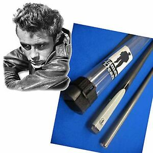 034-Officialy-Licenced-034-James-Dean-Graphite-Pool-Cue-quick-sale
