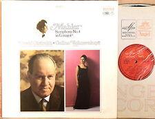 ANGEL MELODIYA Mahler OISTRAKH Symphony #4 VISHNEVSKAYA Soprano SR-40076 EX