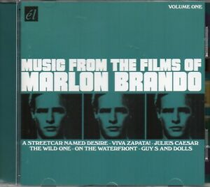 Music-From-Films-Of-Marlon-Brando-Wild-One-Guys-And-Dolls-Streetcar-Desire-CD