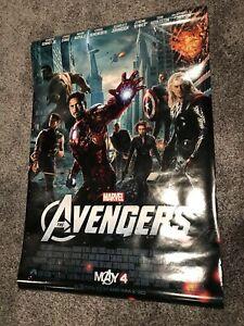 Avengers Original Movie Poster Price