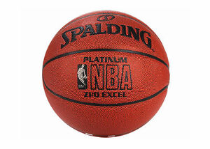 Spalding NBA Platinum Zi / O EXCEL Basketball Sports Ball 74-065Z Size 7