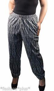 Plus-Size-Pull-on-Harem-Pants-18-20-22-NWT
