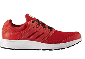 Details about Adidas running Galaxy 3 cloudfoam ORTHOLITE soft comfy shoes Mens size 9 &11 Red