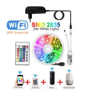 Tira-Luces-LED-decoracion-habitacion-multicolor-Cinta-WIFI-BLUETOOH-12V-5m-10m
