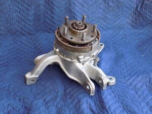 Knuckle Hub Brake Assembly Right REAR Suspension RH Passenger 1985 OEM Corvette