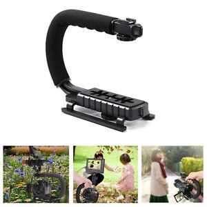 C-U-Shape-Video-Handle-Stabilizer-Grip-Bracket-Holder-For-SLR-Canon-DV-Camera