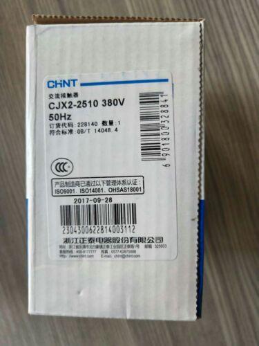 1PC CHNT AC contactor CJX2-2510 380V 25A