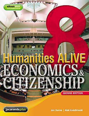 1 of 1 - Humanities Alive Economics & Citizenship 8 & eBookPLUS by Jan Dunne, Alek Kwiat…