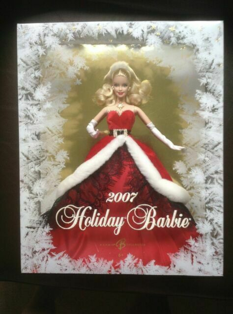 Collector Edition Christmas Holiday 2007 Barbie Doll - $20.00
