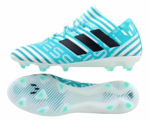 Adidas NEMEZIZ Messi 17.1 FG Ocean Storm Pack BY2406 weiß//türkis UK 10,5 45 1//3