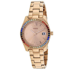 00d1ff730174 Fossil ES4491 Scarlette Mini Rose Gold-tone Womens Watch for sale ...