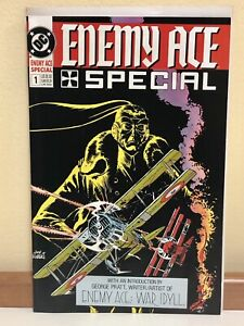 Enemy-Ace-Special-1-Kubert-Art-DC-Comics-1990-Our-Army-at-War-UNREAD-HIGH-GRADE