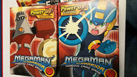 Megaman Nt Warrior Trading Card Game Two Different Starters + 4 Booster Packs