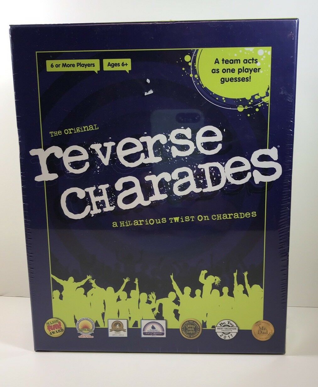 Reverse Charades Game NEW Shrink Wrapped USAopoly Group Family Entertainment