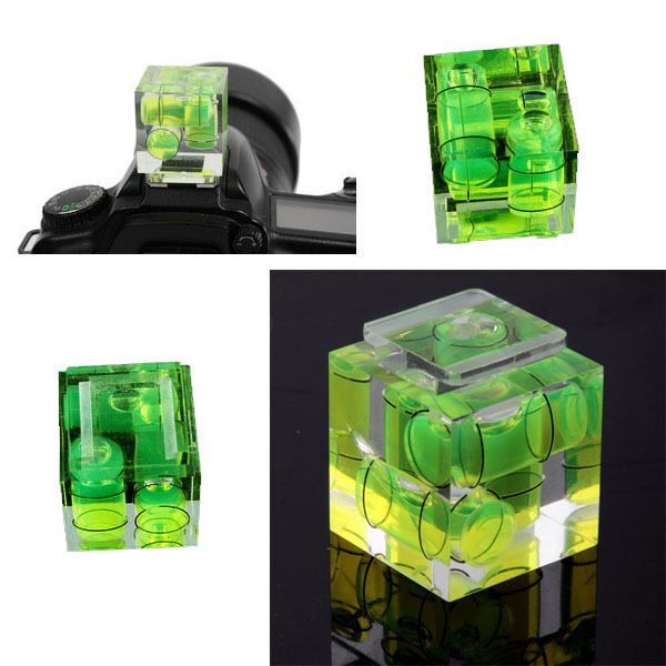 3 Axis Hot Shoe Gradienter Spirit Level for Canon EOS M T5i T4i T3i T3 T2i 700D