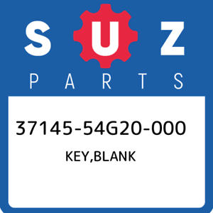 37145-54G20-000-Suzuki-Key-blank-3714554G20000-New-Genuine-OEM-Part