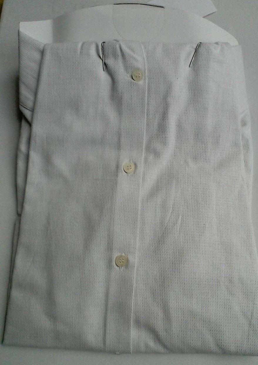 Camicia da uomo-Lyle & Scott 100% cotone  farina d'avena d'avena d'avena spina di pesce NUOVO CON ETICHETTA f64116