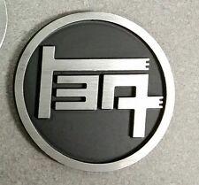 Aluminum TEQ Badge Universal Black (Roundl)