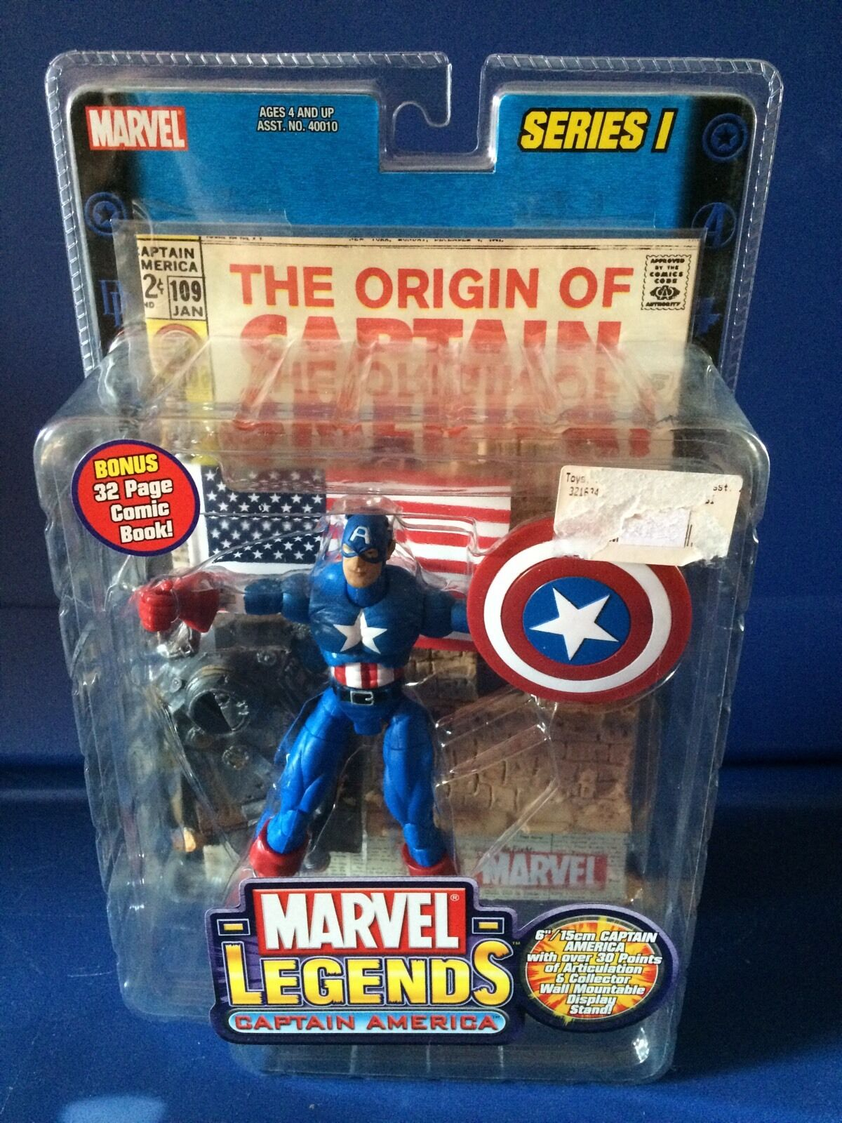 Marvel - legenden captain america reihe i
