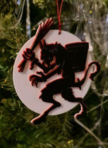 Noël Noël Alternative Gothique éteinte Arbre Babiole Pagan Krampus Ornement Emo